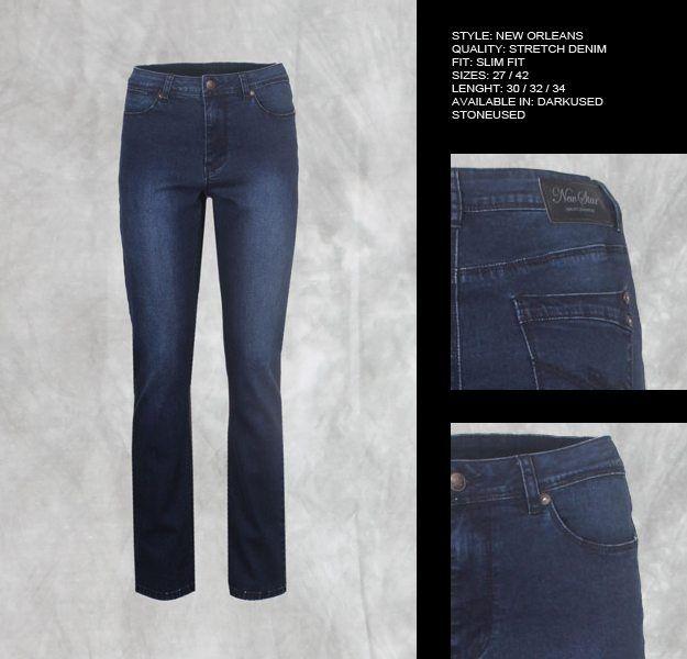 New Star Dames spijkerbroek Lengtematen